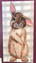 Rabbit sample painting